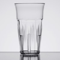Carlisle 4364707 Lorraine 6 oz. Clear SAN Plastic Tumbler   - 12/Case