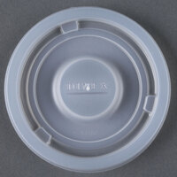 Dinex DX11808714 Classic Translucent Disposable Lid for 8 - 1000/Case