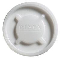 Dinex DX20019000 Translucent Disposable Lid for Cambro Newport 5 oz. Tumbler, Cambro LT6 6 oz. Laguna Tumbler, and Cambro NT5 6.4 oz. Newport Tumbler - 1500 / Case