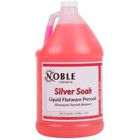 1 Gallon Noble Chemical Silva-Liquid Tableware Presoak - Ecolab® 11486 Alternative - 4 / Case