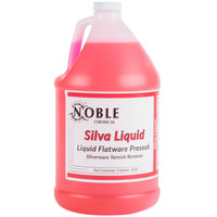 1 Gallon Noble Chemical Silva-Liquid Tableware Presoak - Ecolab&#174&#x3b; 11486 Alternative - 4/Case