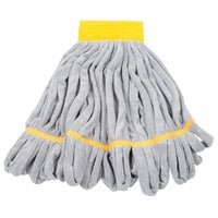 Unger ST45Y SmartColor RoughMop 16 oz. Yellow Heavy Duty Microfiber String Mop Head