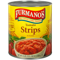 Furmano's #10 Can Tomato Strips / Fillets   - 6/Case