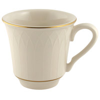 Homer Laughlin 1420-0331 Westminster Gothic Off White 7.5 oz. China Cup - 36/Case