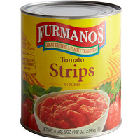 Furmano's #10 Can Tomato Strips / Fillets