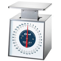 Edlund SF-2 Premier Series 32 oz. Portion Scale with 6 inch x 6 3/4 inch Platform
