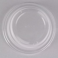 Dinex DX11880174 Classic Clear Disposable Lid for Dinex China Bread Plates & Fruit Bowls - 500/Case