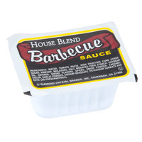Barbecue (BBQ) Sauce 1 oz. Portion Cup   - 100/Case