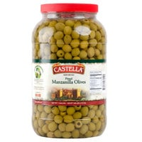 Castella Manzanilla Pitted Olives - 1 Gallon