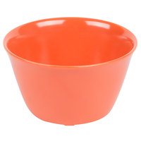 Carlisle 4354052 Dallas Ware 8 oz. Sunset Orange Bouillon Cup - 24/Case