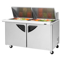 Turbo Air TST-60SD-24 60 inch 2 Door Mega Top Refrigerated Sandwich Prep Table