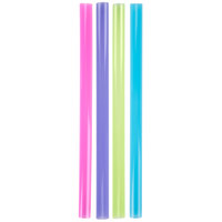 "Dart Solo D85AN 8 1/2"" Colossal Neon Straws - 4000/Case"
