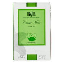 Novus Classic Mint Herbal Tea - 12/Box