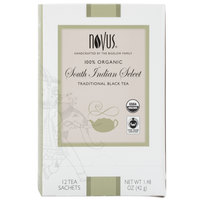 Novus Organic South Indian Select Tea - 12 / Box