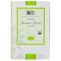 Novus Organic Jasmine Green Tea - 12/Box