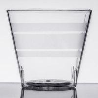 Fineline Tiny Temptations 6406-CL 2.2 oz. Tiny Tumblers Clear Plastic Cup - 200/Case