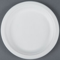 EcoChoice Biodegradable, Compostable Sugarcane / Bagasse 7 inch Plate - 1000 / Case