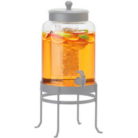 Cal-Mil C1580-3BEV 3 Gallon Replacement Glass Beverage Chamber for Soho Round Dispensers