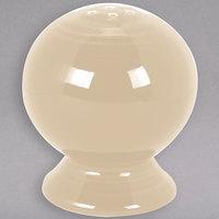 Homer Laughlin 750330 Fiesta Ivory China Salt Shaker - 12/Case