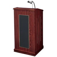 Oklahoma Sound 711MY Mahogany Finish Prestige Lectern with Sound