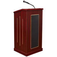 Oklahoma Sound 711-MY Mahogany Finish Prestige Lectern with Sound