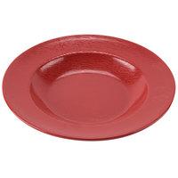 GET B-1609-EW-R Etchedware 16 oz. Textured Red Bowl - 12/Case