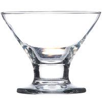 Core 8 oz. Footed Martini / Dessert Glass - 12 / Case