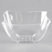 Fineline Wavetrends / Tiny Temptations 180-CL 8 oz. Clear Plastic Bowl - 80/Case