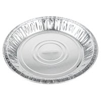 Baker's Mark 9 5/8 inch x 1 3/16 inch Deep Foil Pie Pan - 500/Case