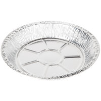"Baker's Mark 9"" x 1 3/16"" Extra Deep Foil Pie Pan - 500/Case"