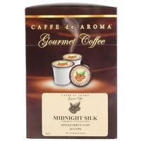 Caffe de Aroma Midnight Silk Coffee Single Serve Cups - 24/Box