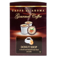Caffe de Aroma Donut Blend Coffee Single Serve Cups - 24/Box
