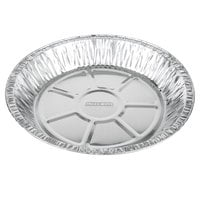 Baker's Mark 9 inch x 1 3/16 inch Extra Deep Foil Pie Pan - 125/Pack
