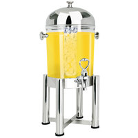 Eastern Tabletop 7512 Pillard 2 Gallon Stainless Steel Beverage Dispenser with Acrylic Container