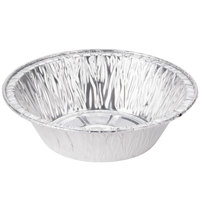 "Baker's Mark 5 3/4"" x 1 1/2"" Deep Foil Pot Pie Pan   - 1000/Case"