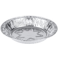 Baker's Mark 8 inch x 1 1/8 inch Deep Foil Pie Pan - 100/Pack