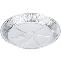 Baker's Mark 12 inch x 1 3/8 inch Extra Deep Foil Pie Pan - 100 / Pack