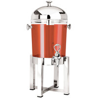 Eastern Tabletop 7522 P2 2 Gallon Stainless Steel Beverage Dispenser with Acrylic Container
