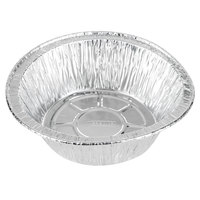 Baker's Mark 6 inch x 1 13/16 inch Extra Deep Foil Pie Pan - 100/Pack