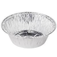 Baker's Mark 6 inch x 1 13/16 inch Extra Deep Foil Pie Pan - 100 / Pack