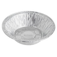 Baker's Mark 5 3/4 inch x 1 1/2 inch Deep Foil Pot Pie Pan   - 100/Pack