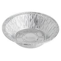Baker's Mark 5 3/4 inch x 1 5/8 inch Deep Foil Pot Pie Pan   - 100/Pack