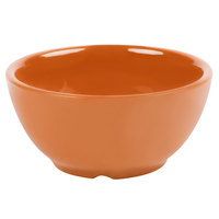 GET B-525-PK Diamond Harvest 16 oz. Pumpkin Melamine Bowl - 24/Case