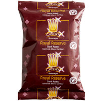 Crown Beverages 3 oz. Royal Reserve Guatemalan Dark Roast Coffee Packet   - 24/Case