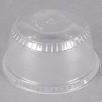Dart Solo SDL12 12 oz. Clear Plastic Sundae Lid   - 1000/Case