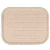 Green Wave TW-TOO-042 14 inch x 18 inch Kraft Pulp Tray 100 / Case