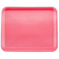 Genpak 1008S (#8S) Foam Meat Tray Rose 10 1/4 inch x 8 1/4 inch x 1/2 inch   - 500/Case