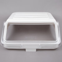 Choice Clear Replacement Lid for 12.63 Gallon Shelf Ingredient Bin