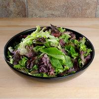 Carlisle 1250B03 3.7 Qt. Black Melamine Salad Bowl - 6/Case