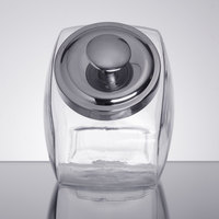 Anchor Hocking 69857AHG17 1/2 Gallon Glass Penny Candy Jar with Chrome Lid